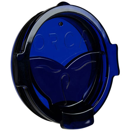 Image for ORCA Whale Tail Flip Top Chaser Lid  Blue