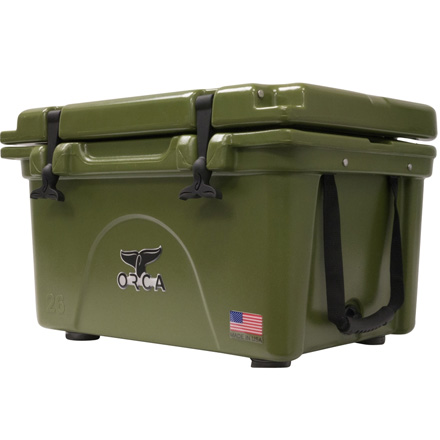 ORCA 26 Quart Cooler Green