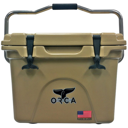 ORCA 20 Quart Cooler Tan