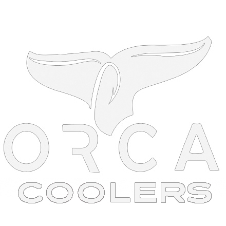 ORCA Whale Tail Window Decal White