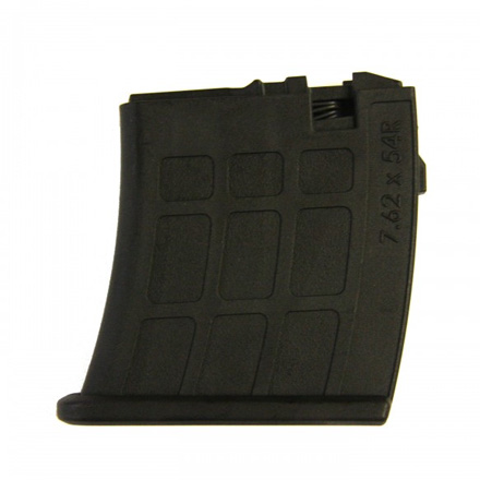 Archangel 7.62 x 54R Magazine for OPFOR Mosin-Nagant Stock 5 RD Black Polymer