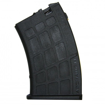 Archangel 7.62 x 54R Magazine for OPFOR Mosin-Nagant Stock 10 Round Black Polymer