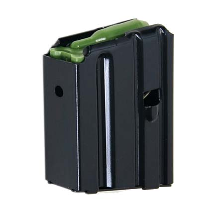 AR-15 .223 Flush Fit Blued Finish 5 Round Magazine