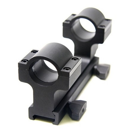 "Image for AR-15 Flat Top 1"" Dual Ring Aluminium Scope Mount"