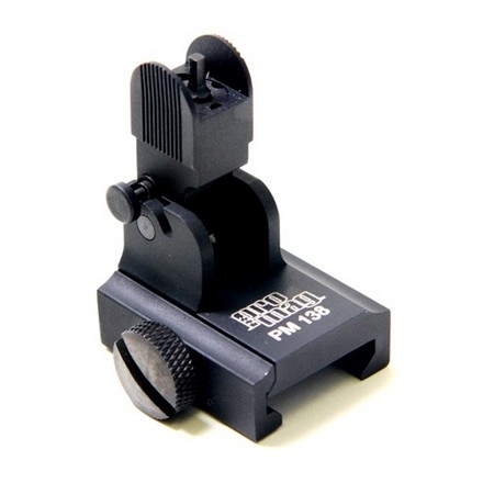 M-16/AR-15 Flip Up Front Sight For Picatinny Rail Front Sight Gas Blocks