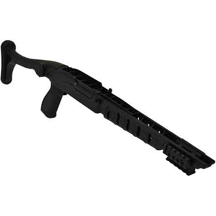 Ruger 10/22 Tactical Folding Stock - Black Polymer