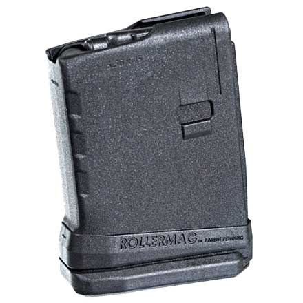 AR-15 5.56MM Roller Follower 10 Round Black Polymer Magazine