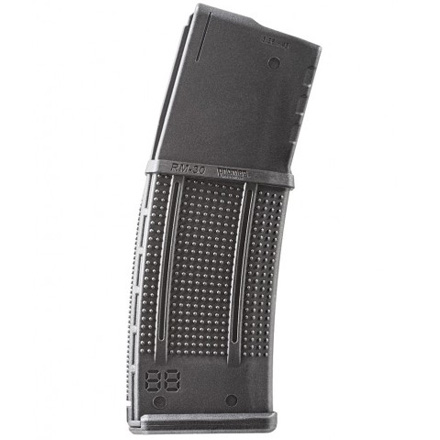AR-15 RM30 Roller Mag 30 Round 5.56 Black Polymer Magazine With Roller Follower
