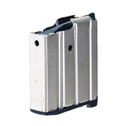 10 Round Mag for Ruger Mini 14 .223 Nickel