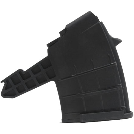 10 ROUND POLYMER MAG FOR SKS 7 .62X39MM  BLACK