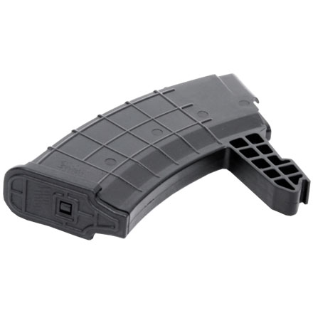 20 ROUND POLYMER MAG FOR SKS 7 .62X39MM  BLACK