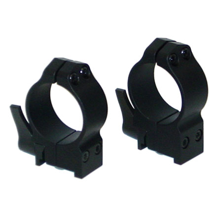 30mm Ruger 77 Quick Detach Rings Medium Matte Finish