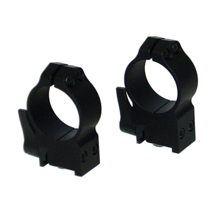 30mm Ruger 77 Quick Detach Rings High Matte Finish
