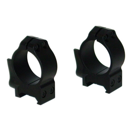 30mm Quick Detach Medium Weaver Style Matte Finish