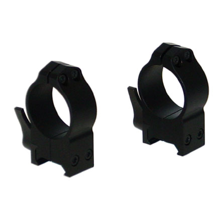 30mm Quick Detach High Weaver Style Matte Finish