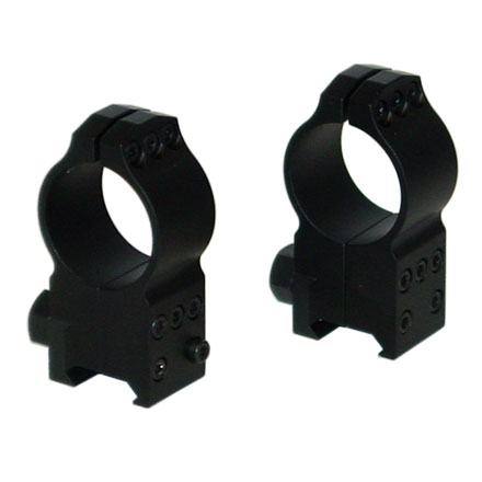 30mm Tactical Rings Ultra High Picatinny Style Matte Finish