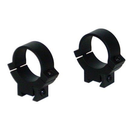 "1"" Rimfire/Airgun Steel Rings Medium Matte Finish"