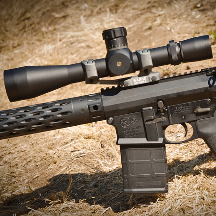 20 MOA Extended Skeletonized 30mm MSR Mount Black Finish