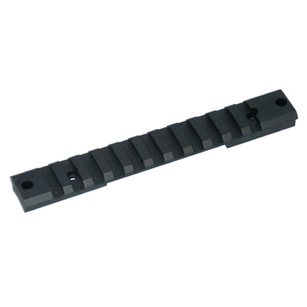 1 Piece Tactical Remington Short Action Base Matte Finish