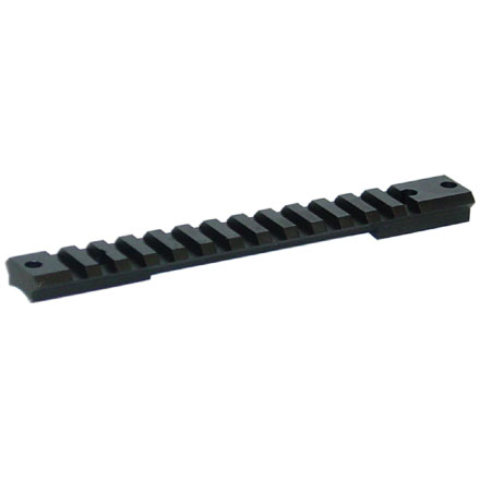 1 Piece Tactical Remington Long Action Base Matte Finish