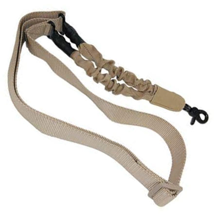 AR15 One Point Sling With QD Snap Hook Desert Tan