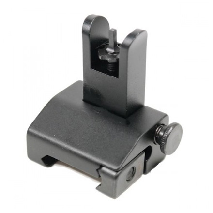 AR-15 Spring Assisted Rail Height Flip-Up Front Sight