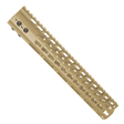 "12"" Ultra Lightweight Thin Key Mod Free Floating Handguard  Cerakote Flat Dark Earth"