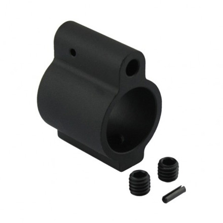 AR-15 .750 Diameter Alloy Low Profile Barrel Gas Block