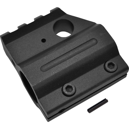 AR-15 Gen 2 Clamp On Aluminum  Rail Height Gas Block