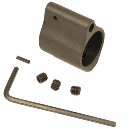 AR-15 .750 Steel Low Profile Gas Block With Three Set Screws