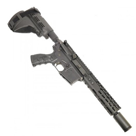 "7"" Ultra Lightweight Thin Key Mod Free Floating Handguard With Monolithic Top Rail"