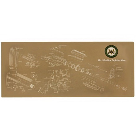 AR-15 Armorer's Gun Cleaning/Assembly Mat