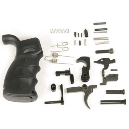 AR-15 Lower Parts Kit With Ergonomic Polymer Pistol Grip