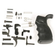 AR 308 Complete Lower Part Kit With Ergonomic Pistol Grip