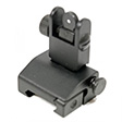 Rear A2 Style Flip-Up Sight With Lock, Spring Assisted