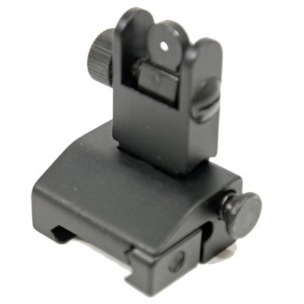 AR-15 Spring Assisted Low Profile Flip Up Sight Set