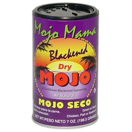 Mojo Mama Blackened Dry Mojo Seasoning 7 Oz