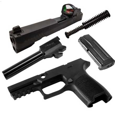 Caliber X-Change Kit P320 Compact RX 9mm Black 15 Round Mag