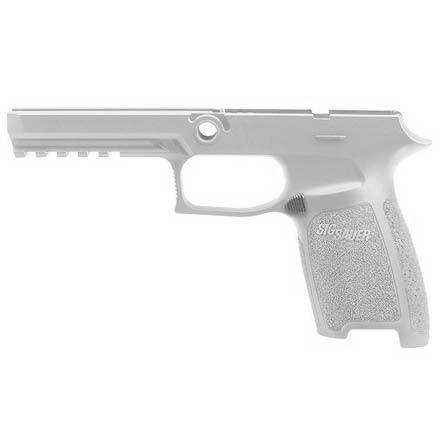 P320/P250 Full Grip Module Assembly 9mm / .40 Auto / .357 Sig Small White
