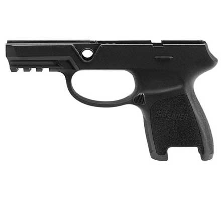 P320/P250 Subcompact Grip Module Assembly 9mm / .40 Auto / .357 Sig Medium Railed Black