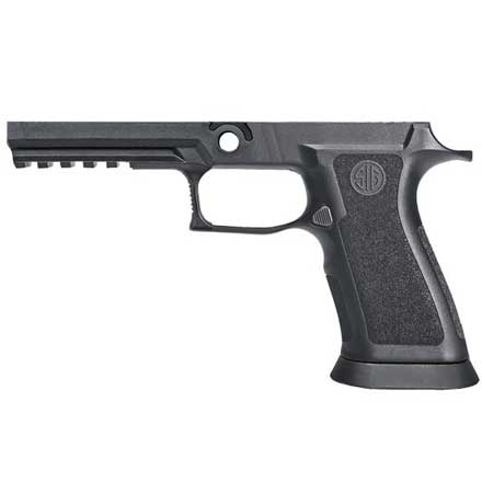 P320 X5 Full Grip Module Assembly 9mm / .40 Auto / .357 Sig Medium Grip Weight Funnel Black
