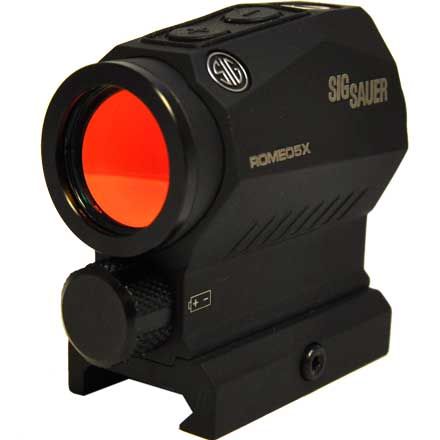 Romeo5 X Compact Red Dot Sight 1x20mm 2 MOA Red Dot Reticle 0.5 MOA Adj AAA M1913 Black