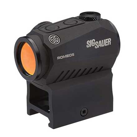 Romeo5 XDR Compact Red Dot Sight 1x20mm 2 MOA Red Dot/65MOA Circle Reticle 0.5 MOA Adj AAA Black