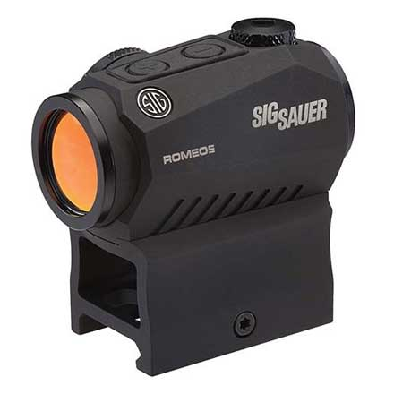 Romeo5 Red Dot Sight 2 MOA Red Dot Reticle M1913 Black & Juliet3 3x Magnifier Black