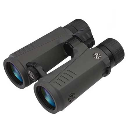 Zulu7 Binocular 10x42mm HDX Lens Open Bridge Graphite