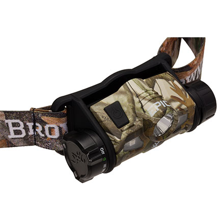 Browning Epic 1-AA USB Rechargeable 260 Lumen Headlamp
