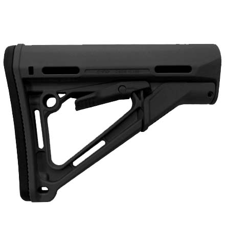 Magpul CTR Carbine Stock Black for AR-15 (For Mil-Spec Buffer Tube)