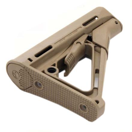Magpul CTR Carbine Stock Dark Earth for AR-15 (For Mil-Spec Buffer Tube)
