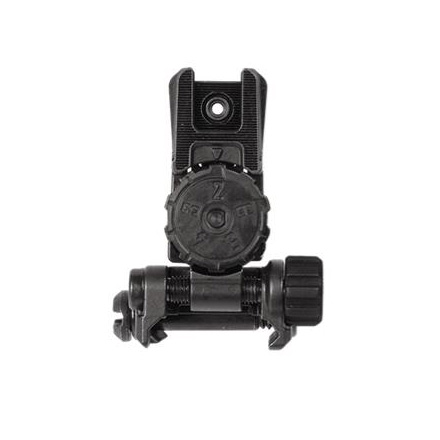 MBUS Pro LR Adjustable Sight - Rear