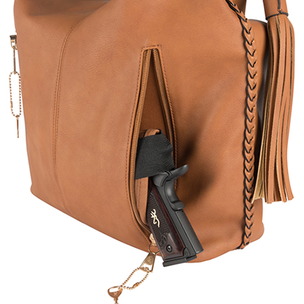 Browning Ashley Concealed Carry Handbag Brown